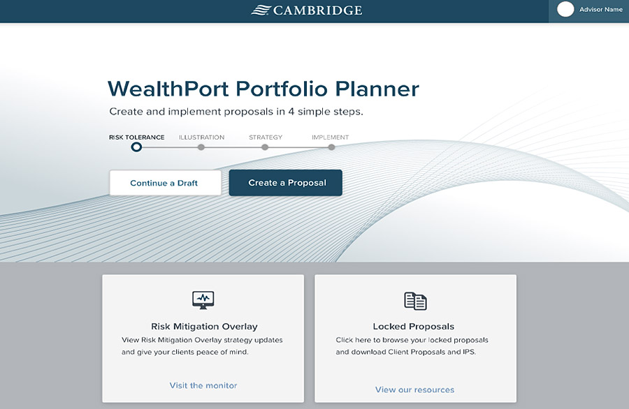 WealthPort Proposal Generation